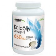 LEADER Kalaöljy 650mg