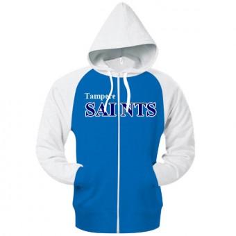 Saints Huppari - Sinivalkoinen