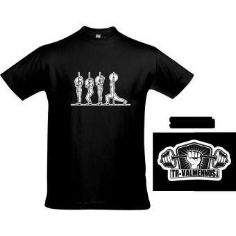 TR-Valmennus - Työnnön vaiheet - T-paita