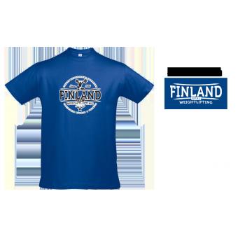 TR-Valmennus - SPNL Finland - T-paita (Sininen)