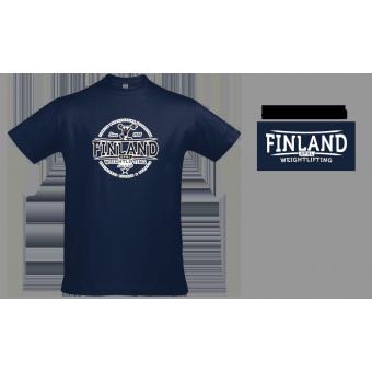 TR-Valmennus - SPNL Finland - T-paita (Tummansininen)